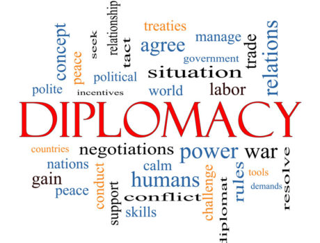 """February 8, 2019 Program Summary: """"Diplomacy in National Security"""" Why it works and when it doesn't"""